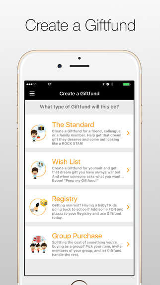 Collaborative Gift-Giving Apps - The 'Giftfund' App Allows Multiple People to Contribute to a Gift
