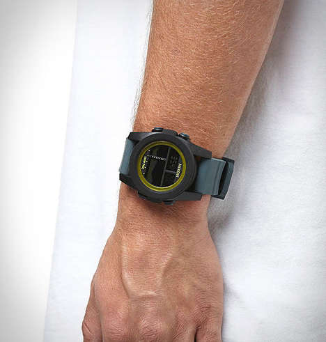 Tide-Tracking Smartwatches - The Nixon Unit Tide Water-Resistant Smartwatch is Rugged