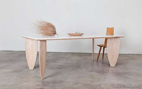 Surfer Dining Room Tables - The Brook&lyn Dining Table Draws Inspiration from Huntington Beach