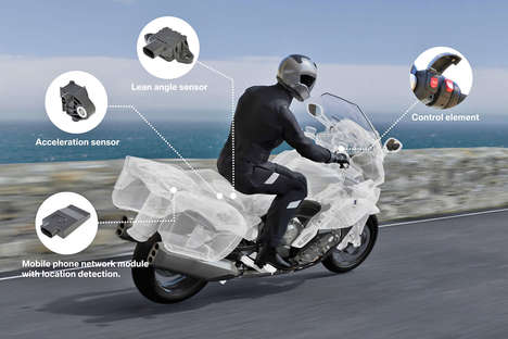 Safety-Focused Smart Motorcycles - BMW Lauches Its Latest Smart System for Motorcycles