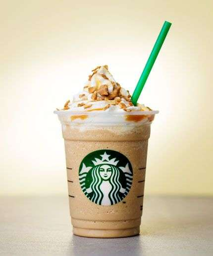 Waffle Cone-Flavored Drinks - The Caramel Waffle Cone Frappuccino is Made for Warmer Weather