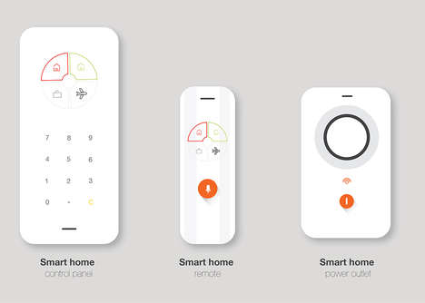 Smart Home Hubs - The 'Smart Home' Features an Intuitive Interface For Simplistic Device Command