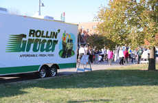 Mobile Grocery Stores - The 'Rollin' Grocer' is Designed to Eliminate Food Deserts