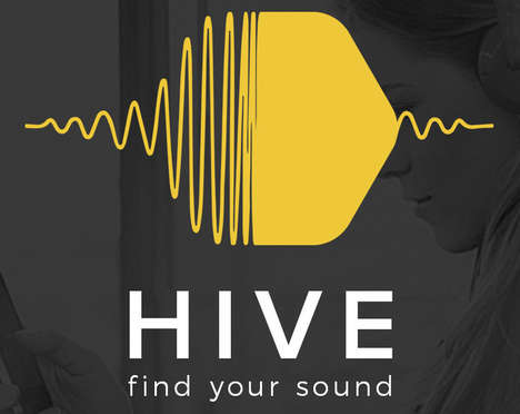 Sound-Specific Music Platforms - The Hive is a Song Discovery App Geared to a User's Tastes