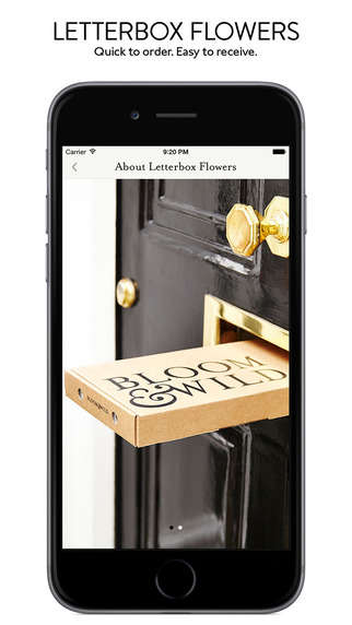 Simplified Flower Delivery Apps - Bloom & Wild Makes It Easy to Order 'Letterbox Flowers'