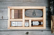 Boxed Beard Care Kits - LONEWOODS's Grooming Kit Consists of Natural Skin and Haircare Essentials