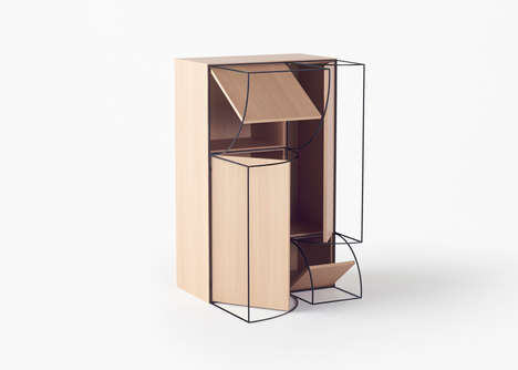Form-Tracing Furniture - This Nendo Design Collection Features Sketch-Like Outlines