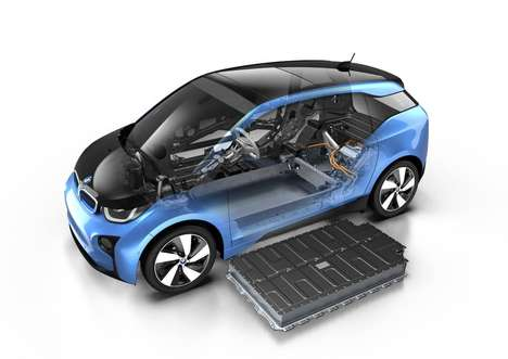 Boosted Hybrid Vehicles - The New BMW i3 Features More Battery Power and Range Than Ever