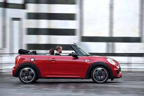 Turbocharged Compact Convertibles - This MINI Convertible Offers a Full-Throttle, Fresh Air Drive