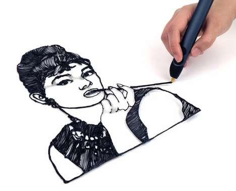 Sleek 3D Printing Pens