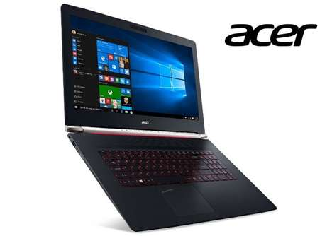 Powerfully Cooled Laptops - The New Acer Aspire V17 Nitro Laptop Offers Reliable Long-Term Use