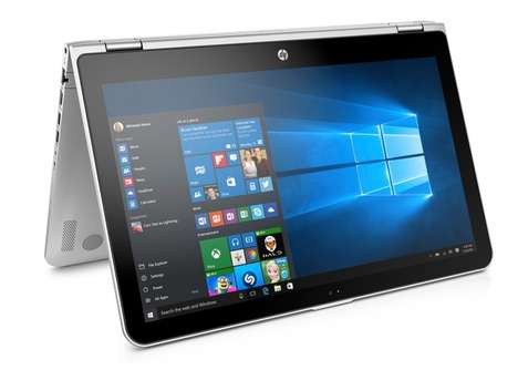 Versatile Hybrid Laptops - The New HP Pavilion x360 Takes Hybrid Computing To the Next Level