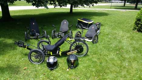 Recumbent Electric Trikes - The Mark 5 Super Trikes Offer 300 Miles Per Single Charge