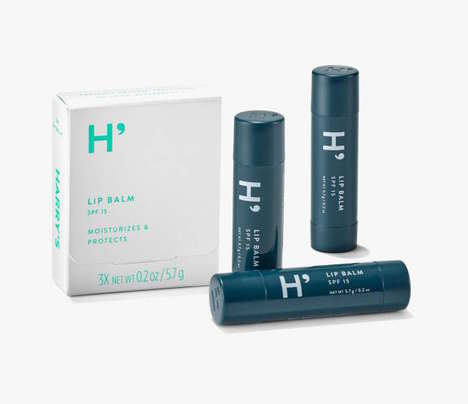 Masculine Sunscreen Chapsticks - The Harry Balm Offers Sun Protection as Well as Added Hydration