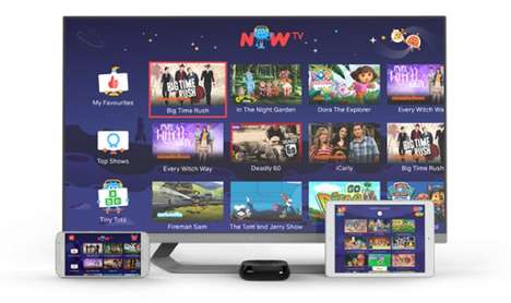 Youth-Focused TV Streaming Services - The Sky Now TV 'Kids Pass' Offers Exclusive Access to Content