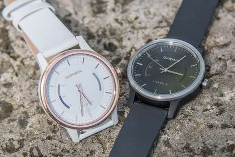 Stylish Fitness Watches - Garmin's 'Vivomove' Fitness Tracker Looks Like a Traditional Watch