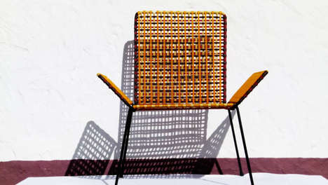 Colorful Charitable Furniture - Marni Offers Colorful Outdoor Furniture with a Charitable Goal