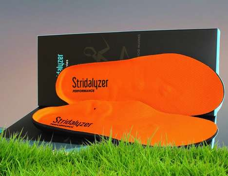 Stride-Analyzing Insoles - The 'Stridalyzer' Performance Shoe Insoles are Packed with Sensors
