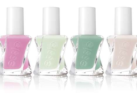 UV-Free Gel Polishes - The Gel Couture Collection by Essie Aims to Revolutionize Gel Polish