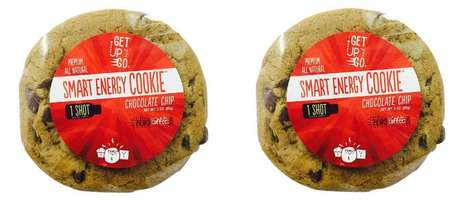 Caffeinated Chocolate Chip Cookies - This Cookie Contains as Much Caffeine as a Cup of Coffee