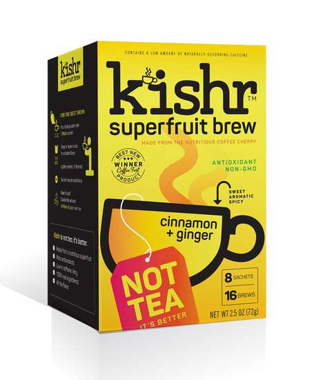 Hot Superfruit Drinks - 'Kishr' is a Superfood Beverage That's Made with the Coffee Cherry Fruit