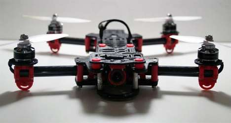 3D-Printed Toy Drones - The Firefly Drone Features Components Created Using a 3D Printer