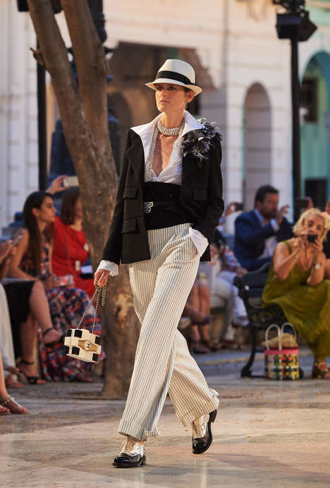Cuban-Inspired Couture - Chanel's Cuban-Themed Runway Presentation Celebrates Havana Fashion