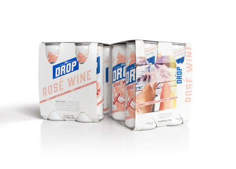 Canned Wine Packs - This Californian Rosé Wine is Packaged in a Case Like Beer
