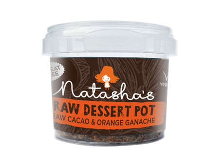 Raw Dessert Pots - This Portable Ganache Dessert Satisfies a Sweet Tooth on the Go