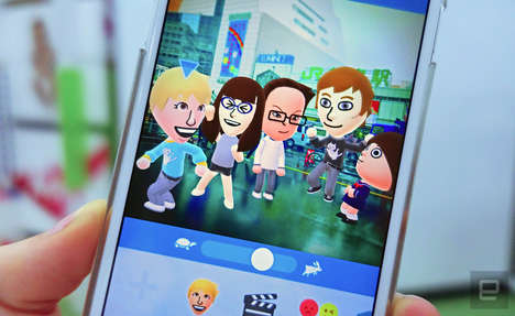Social Avatar Apps - Miitomo is a Customizable App That Reveals Fun Facts About Friends