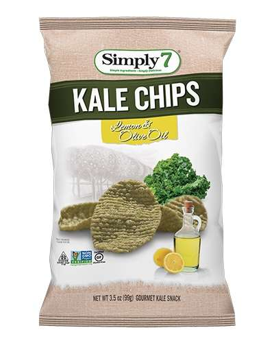 14 Kale Chip Snacks - From Kale Potato Chips to Superfood Tortilla Chips