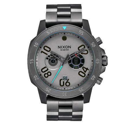 Luxe Galaxy Watches - The Nixon Star Was Collection Cinematically Celebrates May the 4th