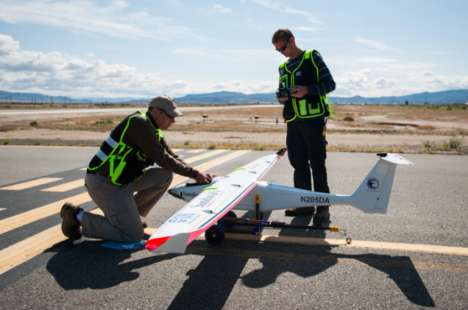 Rainfall-Igniting Drones - The Sandoval Silver State Seeder Can Set Off Rain in Dry Climates