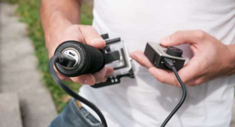Blur-Reducing Camera Rigs - This Camera Stabilizer Dampens Body Movements and Resulting Blur