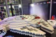 LEGO Sci-Fi Starships - The Latest LEGO Millennium Falcon Uses Extraordinarily Large Bricks