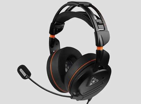 Sound-Segmenting Gaming Headphones - The Turtle Beach Elite Pro Gaming Headset is Comfy and Powerful