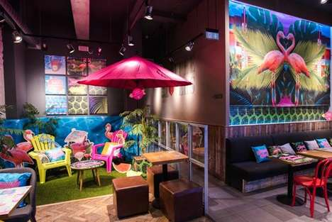 Summery Concept Stores - The 'Seriously Summer' Stores Celebrate Costa Coffee's Seasonal Menu