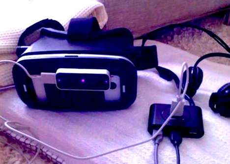 Affordable DIY VR Headsets - This DIY VR Headset is Made Using a RiftCat and Leap Motion