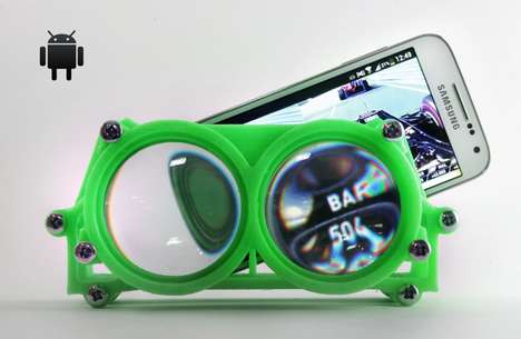 Printed VR Goggles - Altergaze's Virtual Reality Glasses are Crowdsourced and 3D-Printed