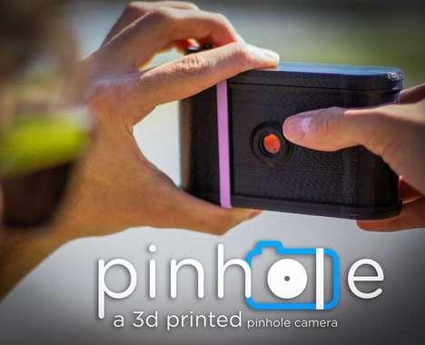 3D-Printed Pinhole Cameras