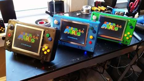 Remixed Gaming Systems - This Project Turns the Classic Nintendo 64s into a Portable Gaming System