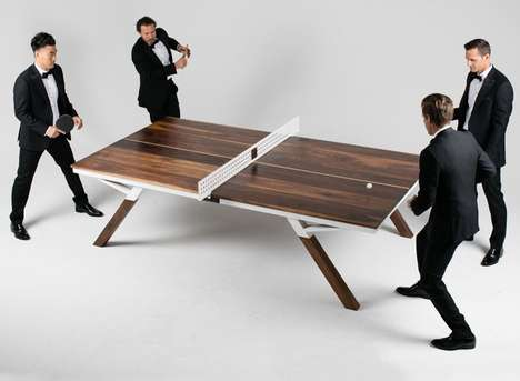Ping Pong Conference Tables - The Woolsey Ping Pong Adjustable Table is for Business and Pleasure
