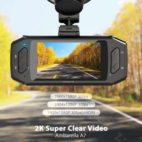 Comprehensive Security Car Cameras - The Vantrue R2 Dash Cam Records During Drives and While Parked