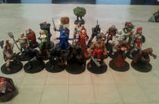 3D-Printed Game Pieces - These DIY Dungeons & Dragons Miniatures Can Be Printed at Home