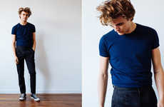 Vintage-Inspired Menswear - The Basic Right's Simple Men's Clothing Staples Look to the Past