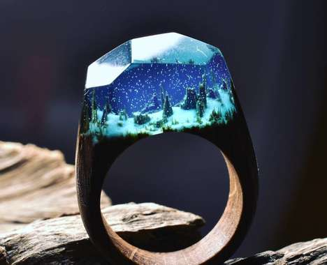 Landscape-Inspired Ring Collections