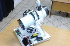 Optical Open-Source Telescopes - This Tracking Telescope Was Made Using a Raspberry Pi Computer