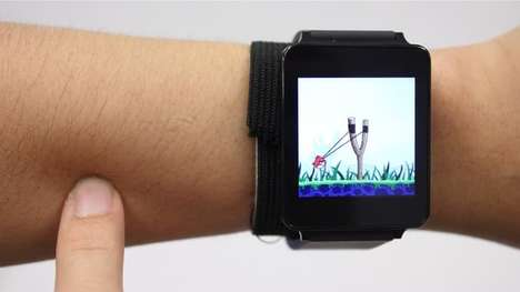 Skin Touchscreen Systems - The SkinTrack System Turns Your Arm Into a Touch-Sensitive Interface