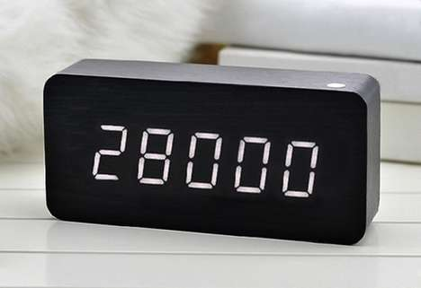 Macabre Death Clocks - The 'You'll Be Dead Soon' 28 Desk Clocks Count Down the Days in a Lifetime