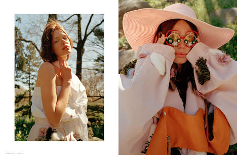 Conceptual Flower Child Fashion - Annie Li's 70s-Themed Apparel is Spotlighted on The Ones 2 Watch